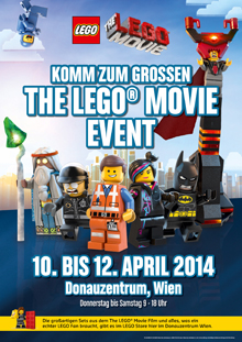 LEgo Movie Plakat