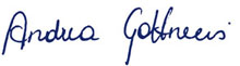 Unterschrift Andrea Gottweis