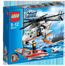 Lego Hubschrauber der Küstenwache