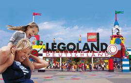 Legoland Parkeingang