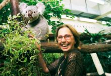 Dr. Schlatter mit Koalabär