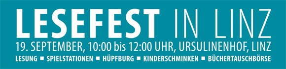 Lesefest in Linz