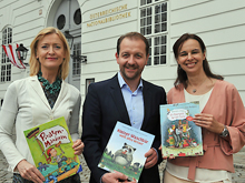 Johanna Rachinger, Bernhard Baier, Sophie Karmasin
