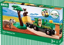 Brio Safari Bahn Set