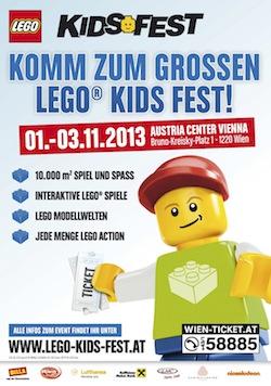 LEGO Kidsfest Plakat